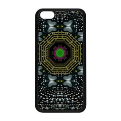 Leaf Earth And Heart Butterflies In The Universe Apple Iphone 5c Seamless Case (black)