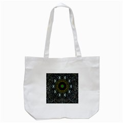 Leaf Earth And Heart Butterflies In The Universe Tote Bag (white)