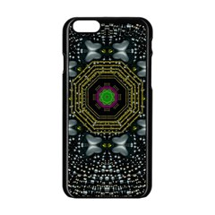 Leaf Earth And Heart Butterflies In The Universe Apple Iphone 6/6s Black Enamel Case