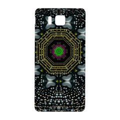 Leaf Earth And Heart Butterflies In The Universe Samsung Galaxy Alpha Hardshell Back Case