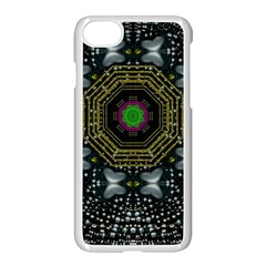 Leaf Earth And Heart Butterflies In The Universe Apple Iphone 8 Seamless Case (white)