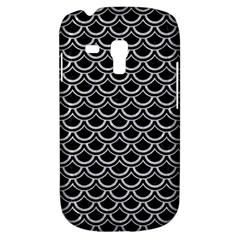 Scales2 Black Marble & Silver Glitter (r) Galaxy S3 Mini