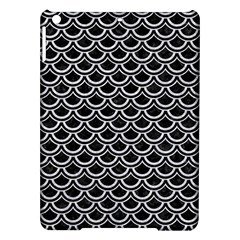 Scales2 Black Marble & Silver Glitter (r) Ipad Air Hardshell Cases