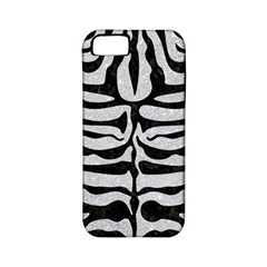 Skin2 Black Marble & Silver Glitter Apple Iphone 5 Classic Hardshell Case (pc+silicone)