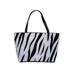 Skin3 Black Marble & Silver Glitter Shoulder Handbags
