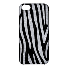 Skin4 Black Marble & Silver Glitter Apple Iphone 5c Hardshell Case