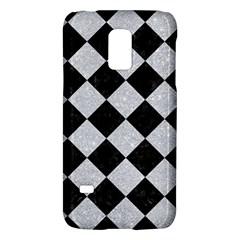 Square2 Black Marble & Silver Glitter Galaxy S5 Mini