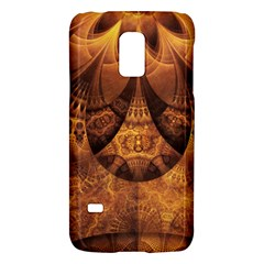 Beautiful Gold And Brown Honeycomb Fractal Beehive Galaxy S5 Mini