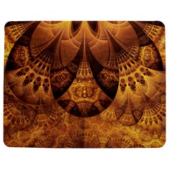 Beautiful Gold And Brown Honeycomb Fractal Beehive Jigsaw Puzzle Photo Stand (rectangular)