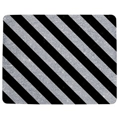 Stripes3 Black Marble & Silver Glitter Jigsaw Puzzle Photo Stand (rectangular)