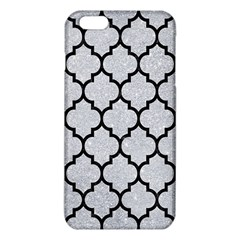 Tile1 Black Marble & Silver Glitter Iphone 6 Plus/6s Plus Tpu Case