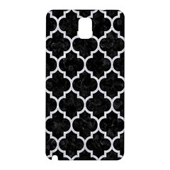 Tile1 Black Marble & Silver Glitter (r) Samsung Galaxy Note 3 N9005 Hardshell Back Case