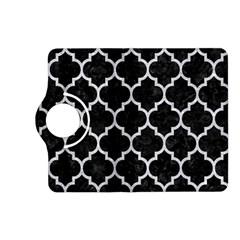 Tile1 Black Marble & Silver Glitter (r) Kindle Fire Hd (2013) Flip 360 Case