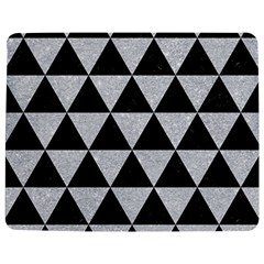 Triangle3 Black Marble & Silver Glitter Jigsaw Puzzle Photo Stand (rectangular)