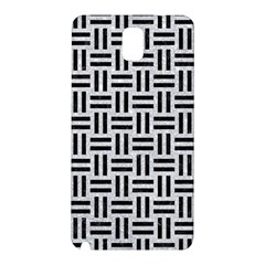 Woven1 Black Marble & Silver Glitter Samsung Galaxy Note 3 N9005 Hardshell Back Case
