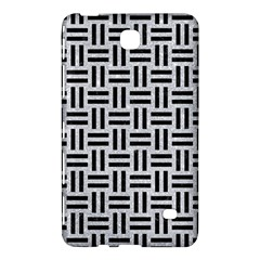 Woven1 Black Marble & Silver Glitter Samsung Galaxy Tab 4 (7 ) Hardshell Case