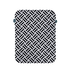 Woven2 Black Marble & Silver Glitter Apple Ipad 2/3/4 Protective Soft Cases