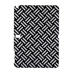 Woven2 Black Marble & Silver Glitter (r) Galaxy Note 1
