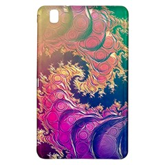 Rainbow Octopus Tentacles In A Fractal Spiral Samsung Galaxy Tab Pro 8 4 Hardshell Case