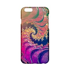 Rainbow Octopus Tentacles In A Fractal Spiral Apple Iphone 6/6s Hardshell Case