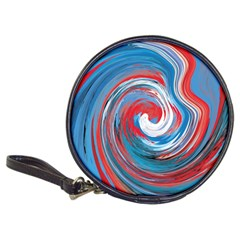 Red And Blue Rounds Classic 20 Cd Wallets