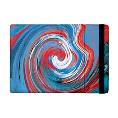 Red And Blue Rounds Apple Ipad Mini Flip Case