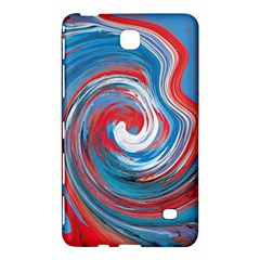 Red And Blue Rounds Samsung Galaxy Tab 4 (7 ) Hardshell Case
