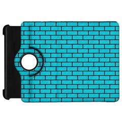 Brick1 Black Marble & Turquoise Colored Pencil Kindle Fire Hd 7