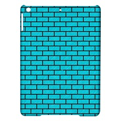 Brick1 Black Marble & Turquoise Colored Pencil Ipad Air Hardshell Cases