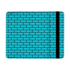 Brick1 Black Marble & Turquoise Colored Pencil Samsung Galaxy Tab Pro 8 4  Flip Case