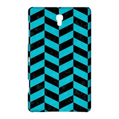Chevron1 Black Marble & Turquoise Colored Pencil Samsung Galaxy Tab S (8 4 ) Hardshell Case