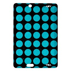 Circles1 Black Marble & Turquoise Colored Pencil (r) Amazon Kindle Fire Hd (2013) Hardshell Case