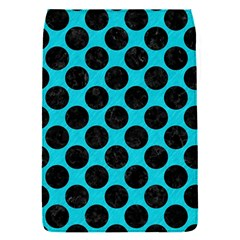 Circles2 Black Marble & Turquoise Colored Pencil Flap Covers (s)