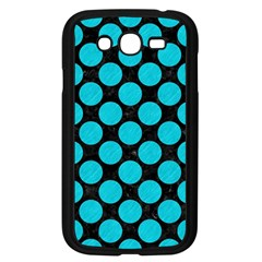 Circles2 Black Marble & Turquoise Colored Pencil (r) Samsung Galaxy Grand Duos I9082 Case (black)