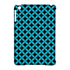 Circles3 Black Marble & Turquoise Colored Pencil (r) Apple Ipad Mini Hardshell Case (compatible With Smart Cover)