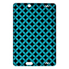 Circles3 Black Marble & Turquoise Colored Pencil (r) Amazon Kindle Fire Hd (2013) Hardshell Case