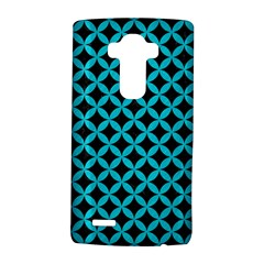 Circles3 Black Marble & Turquoise Colored Pencil (r) Lg G4 Hardshell Case