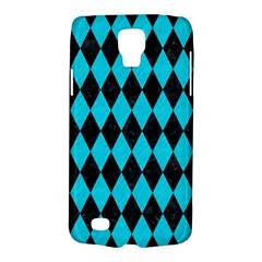 Diamond1 Black Marble & Turquoise Colored Pencil Galaxy S4 Active