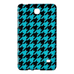Houndstooth1 Black Marble & Turquoise Colored Pencil Samsung Galaxy Tab 4 (8 ) Hardshell Case
