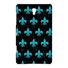 Royal1 Black Marble & Turquoise Colored Pencil Samsung Galaxy Tab S (8 4 ) Hardshell Case