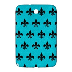 Royal1 Black Marble & Turquoise Colored Pencil (r) Samsung Galaxy Note 8 0 N5100 Hardshell Case