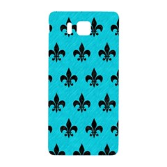 Royal1 Black Marble & Turquoise Colored Pencil (r) Samsung Galaxy Alpha Hardshell Back Case