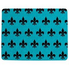 Royal1 Black Marble & Turquoise Colored Pencil (r) Jigsaw Puzzle Photo Stand (rectangular)