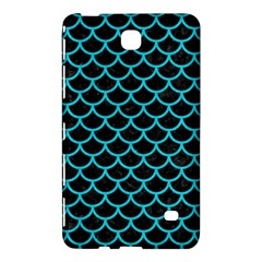 Scales1 Black Marble & Turquoise Colored Pencil (r) Samsung Galaxy Tab 4 (8 ) Hardshell Case