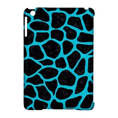 Skin1 Black Marble & Turquoise Colored Pencil Apple Ipad Mini Hardshell Case (compatible With Smart Cover)