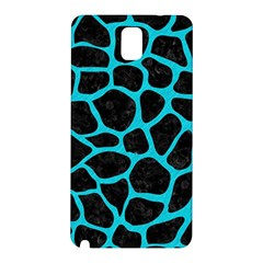Skin1 Black Marble & Turquoise Colored Pencil Samsung Galaxy Note 3 N9005 Hardshell Back Case