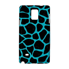 Skin1 Black Marble & Turquoise Colored Pencil Samsung Galaxy Note 4 Hardshell Case