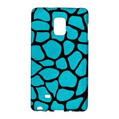 Skin1 Black Marble & Turquoise Colored Pencil (r) Galaxy Note Edge