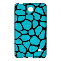 Skin1 Black Marble & Turquoise Colored Pencil (r) Samsung Galaxy Tab 4 (8 ) Hardshell Case