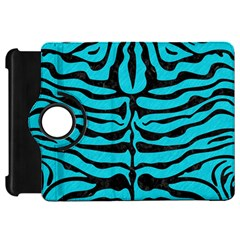 Skin2 Black Marble & Turquoise Colored Pencil Kindle Fire Hd 7